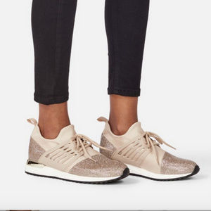 NWT Mixed Material Sneaker